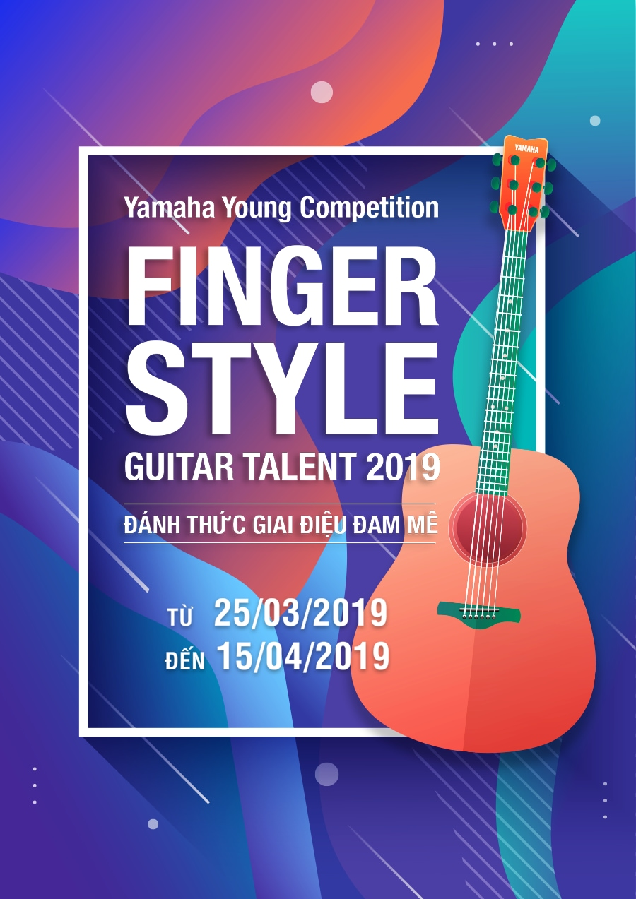 Yamaha Young Competition Finger-style Guitar Talent 2019