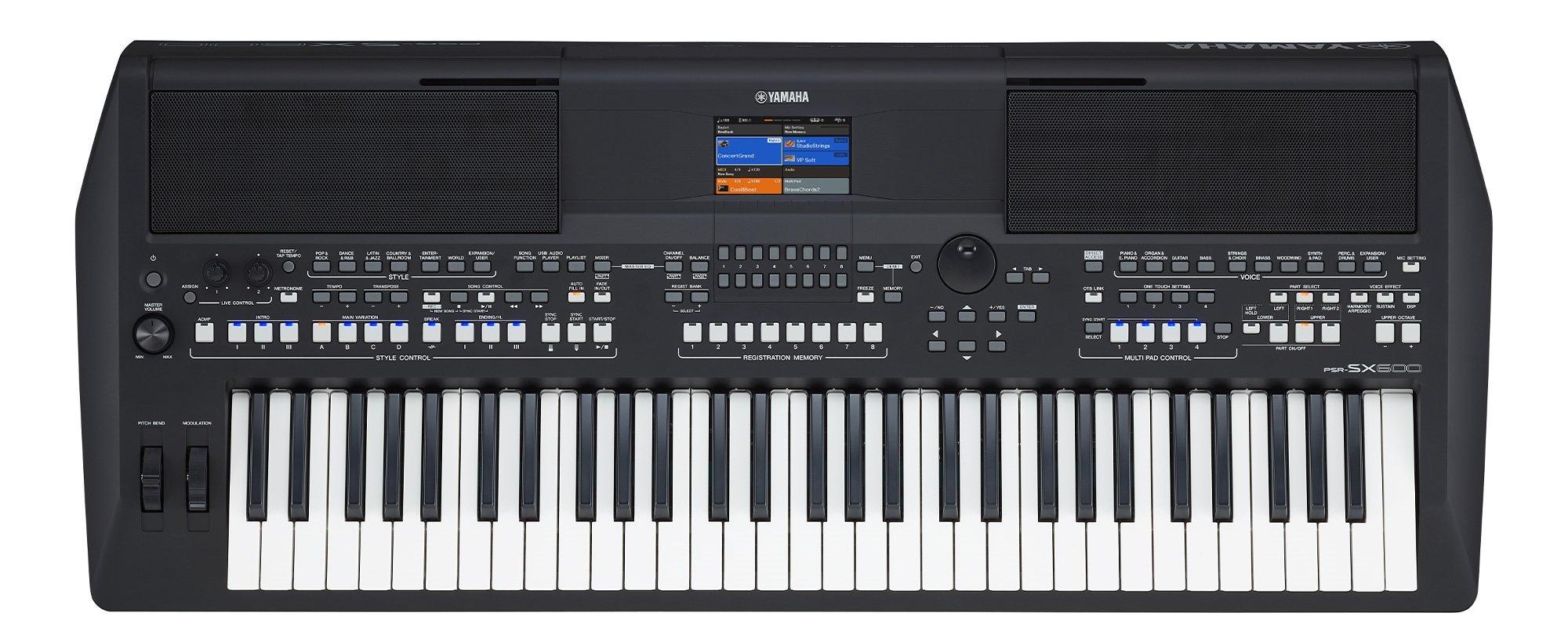 PSR-SX600   Yamaha Corporation.