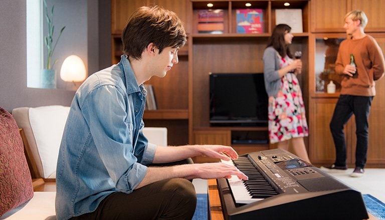 đàn organ Yamaha E463