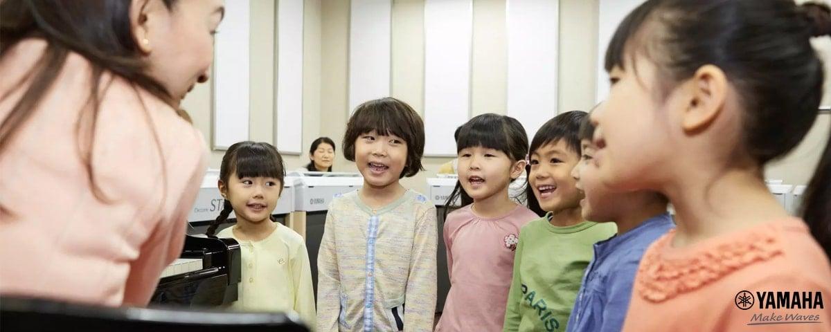 dạy thanh nhạc cho trẻ em
