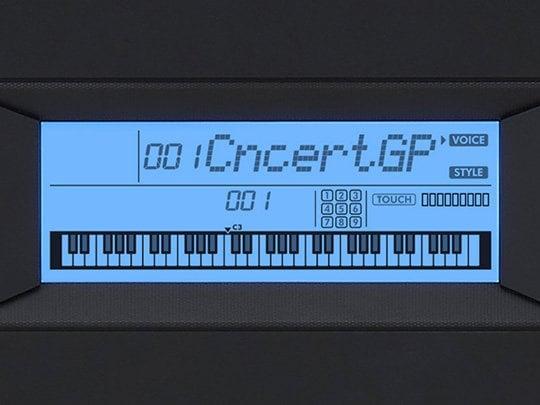 Màn hình LCD rõ nét