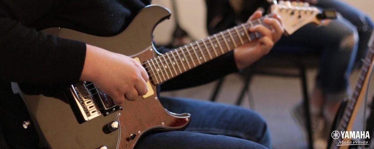 học guitar điện ở tphcm