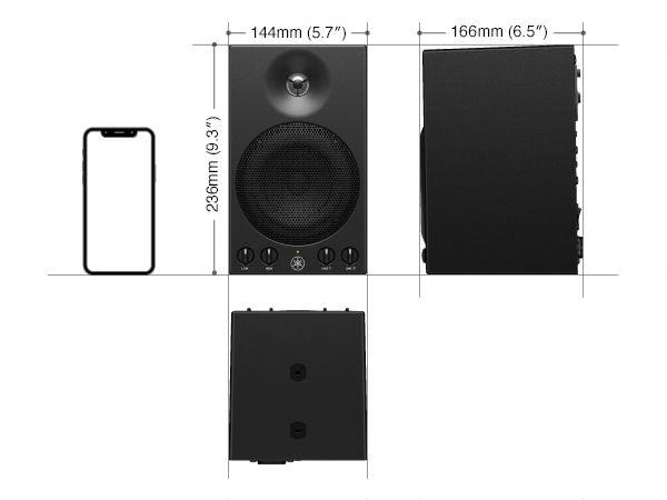 MSP3A Dimensions