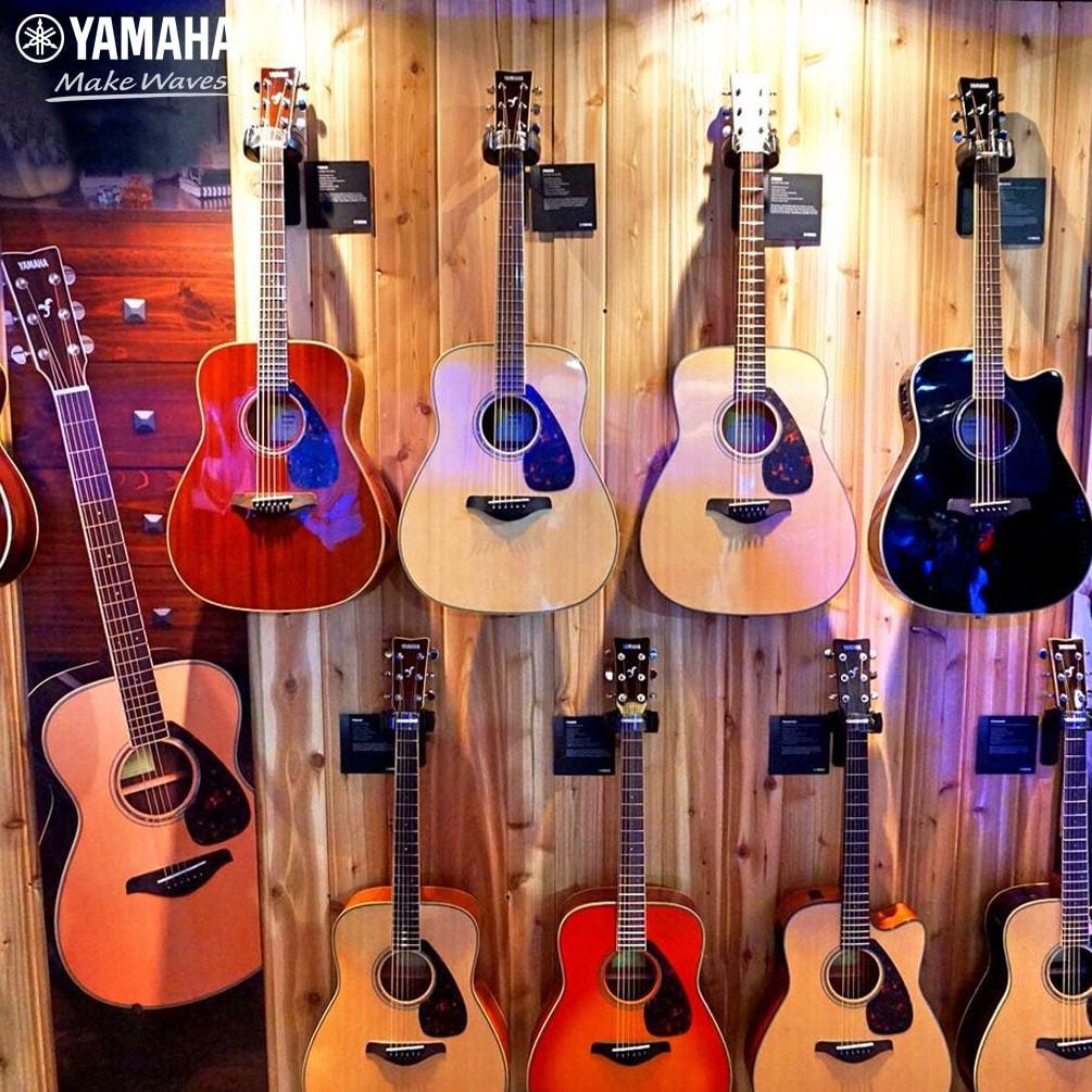 Loại nào tốt nhất khi mua dây đàn guitar acoustic? | Yamaha