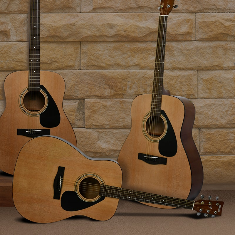 Musical Instrument Guide: Acoustic guitar for beginners Yamaha ...